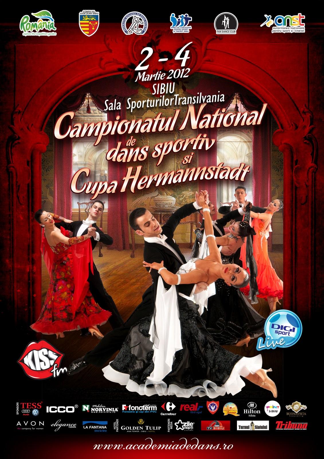 Campionatul National al Romaniei … Sibiu, 2-4 martie 2012