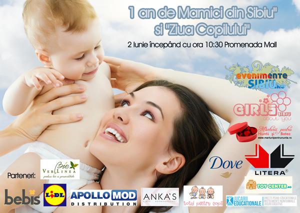 """Aniversarea tuturor copiilor si 1 an de """"Mamici din Sibiu"""" !"""