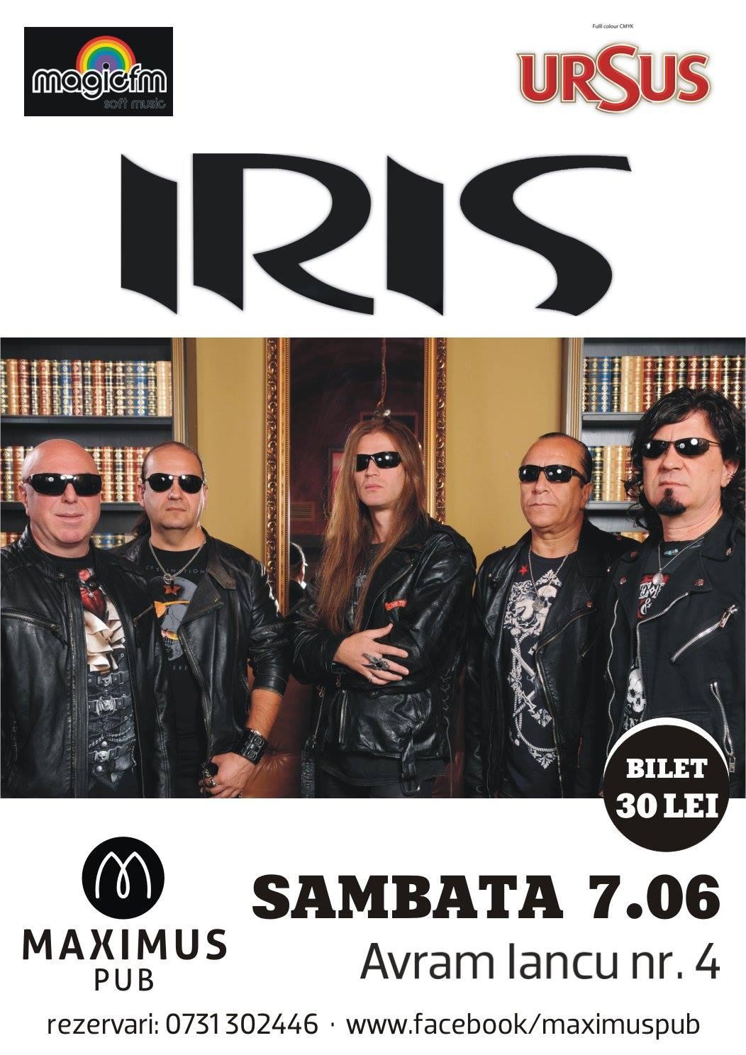 IRIS in Maximus Pub