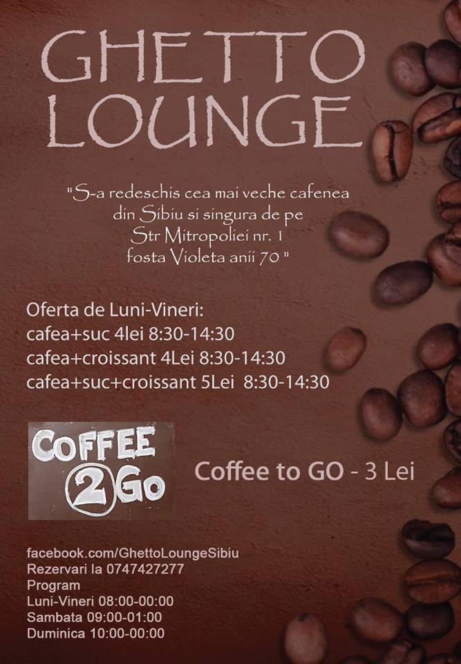 S-a redeschis cea mai veche cafenea din Sibiu !