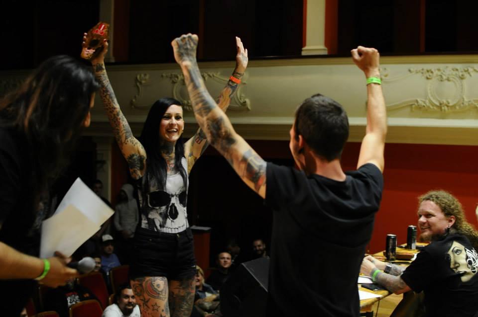 A 8-a editie a Transilvania Tattoo Expo.