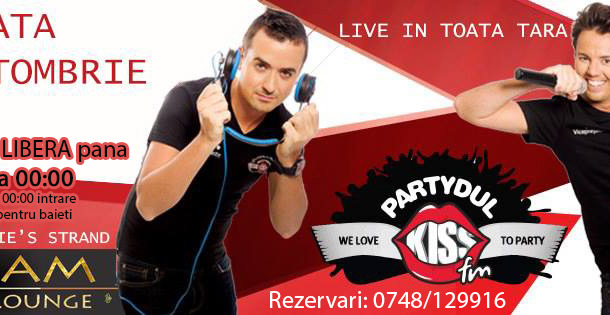 Partydul Kiss FM in Cream Pub