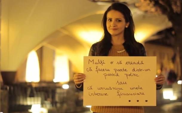 Video: Mesaj emotionant creat de tinerii din Sibiu !