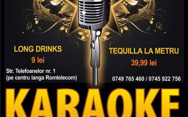 Karaoke Night in Happy Lounge cu Adrian Corlaciu