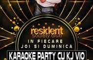 Karaoke Party cu KJ Vio in Resident Club