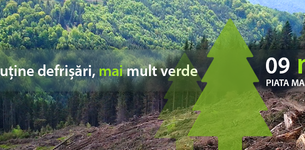 Marș pentru protejarea pădurilor  – SIBIU