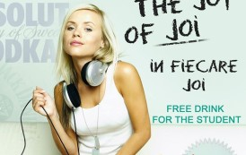 In fiecare JOI-STUDENT  PARTY in Resident Sibiu